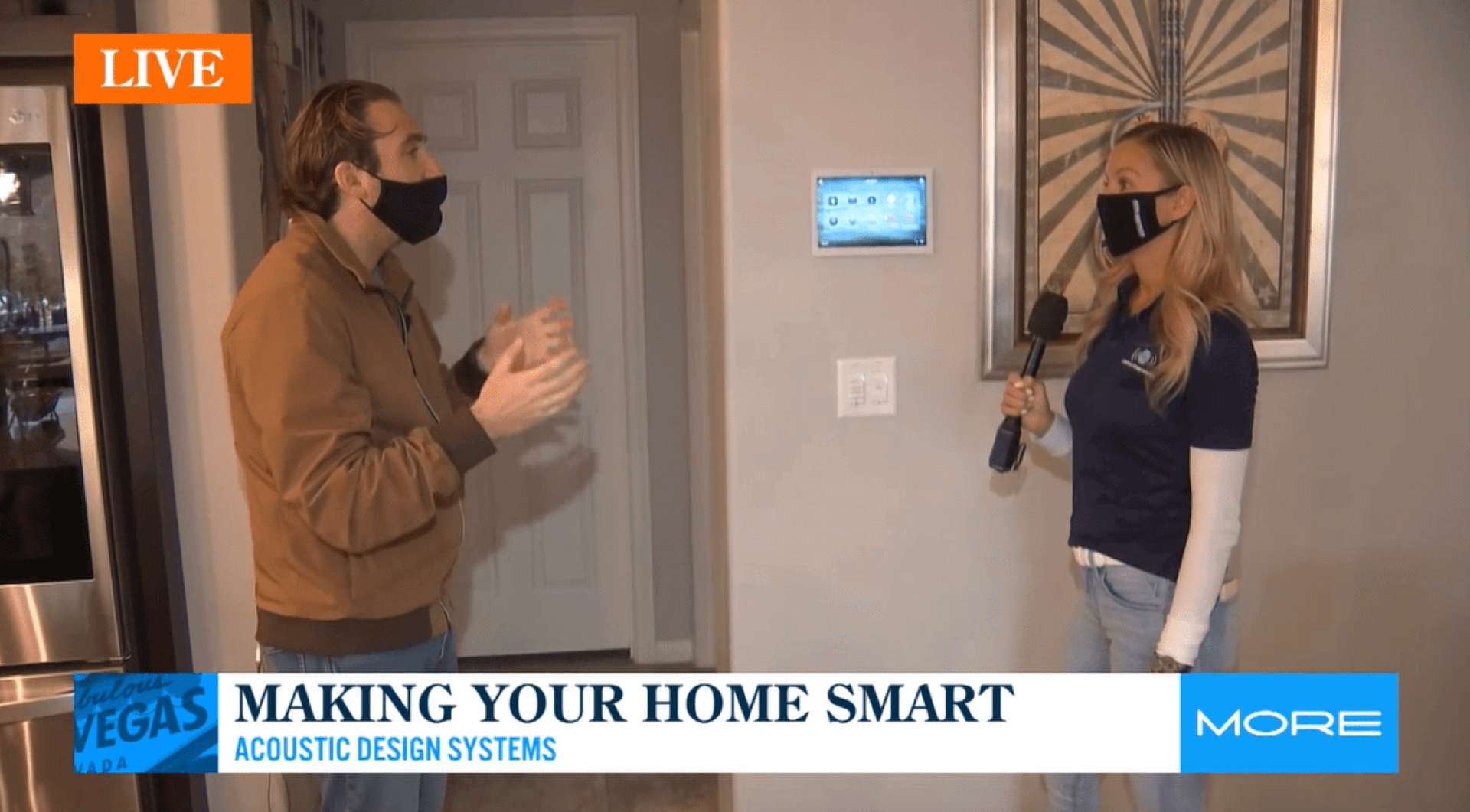 Discussing Smart Home Trends to Watch for in 2021 with FOX 5 Las Vegas