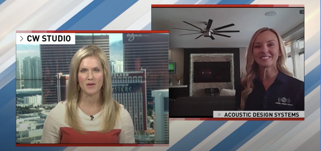 News 3 LV and the CW Share how Acoustic Design Systems Can Help Turn  your Home into a Smart Home